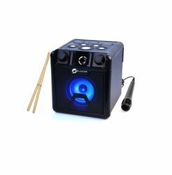 N-Gear Drum Block 420 - głośnik Bluetooth z perkusją oraz mikrofonem Karaoke